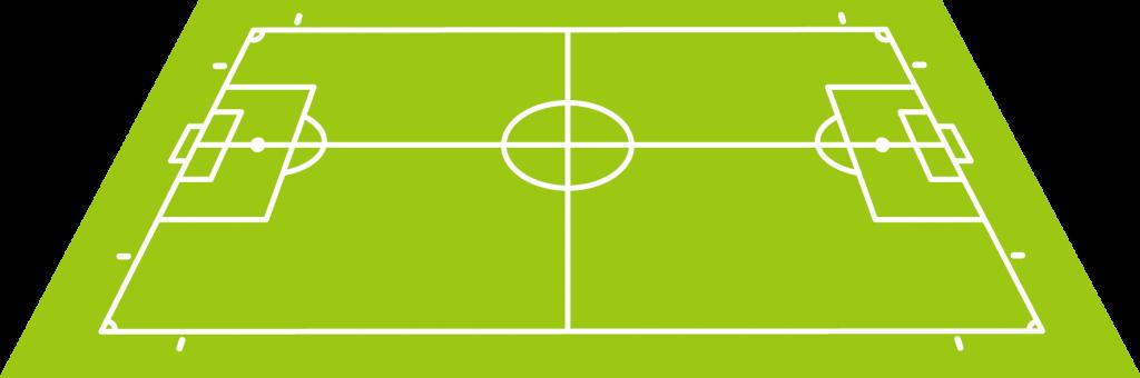Propulsive Football (PROBALL) Campo vista del stand principal